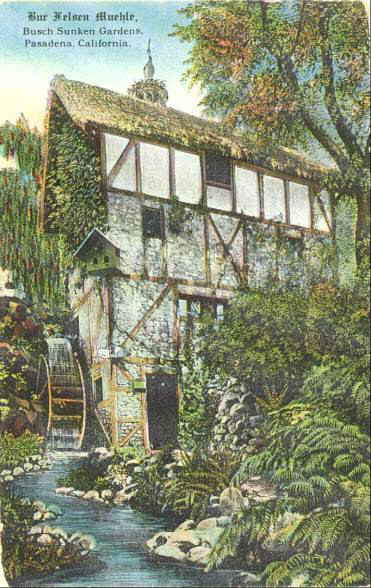 The Old Mill Was Built As A Playhouse For The Buschs Daughter.