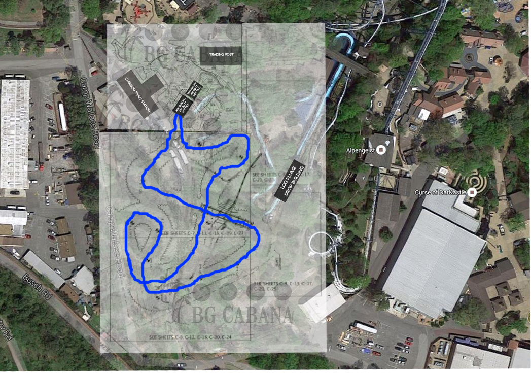 Busch Gardens Project 2017 Site Plans UPDATE Attraction Chasers – Planning A Trip To Busch Gardens Williamsburg