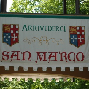 San Marco Sign - Italy - 2014
