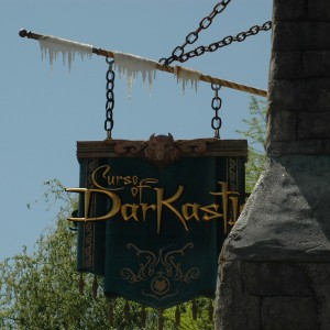 Curse of Darkastle - Oktoberfest - Sign - Flat Ride - 2014