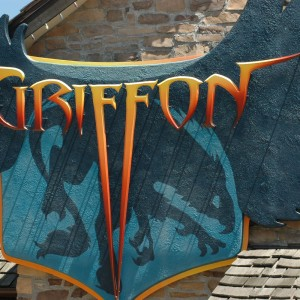 Griffon Sign - France - Roller Coaster - 2014