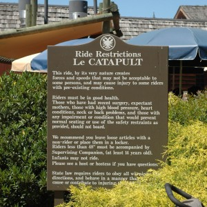 New France - Le Catapult - Ride - 2014