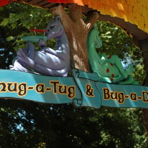 Land of the Dragons - Chug-A-Tug - Kiddie Ride - 2014