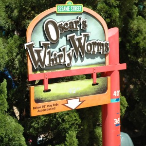 Forest of Fun - Oscar's Wiggly Worm - Kiddie Ride - 2014
