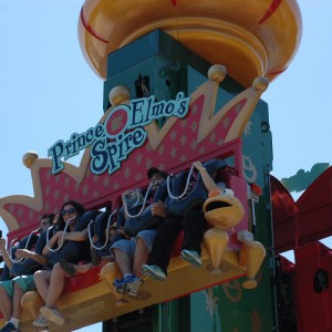 Forest of Fun - Prince Elmo's Spire - Kiddie Ride - 2014