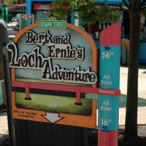Forest of Fun -Loch Adventure - Kiddie Ride - 2014