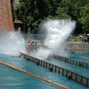 Italy - Escape From Pompeii - Water Ride - 2014