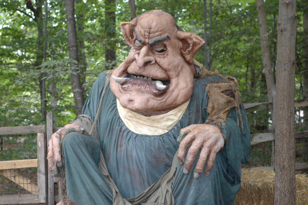 Howl O Scream Bridge Troll Revived Attraction Chasers