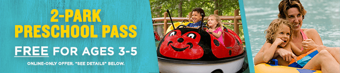 Busch Gardens Williamsburg Offers Free Pre School Pass For Children Age 3 5 Attraction Chasers